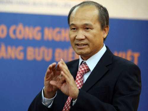 Ông Dương Công Minh - Chủ tịch HĐQT LienVietPostBank, người đã ký thông báo ưu tiên tuyển dụng con em dòng họ Dương vào làm cho ngân hàng với tư cách Phó chủ tịch hội đồng dòng họ. Ảnh: P.V.