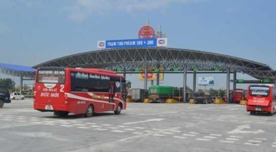 trạm BOT, thu phí, xe tải, Pháp Vân- Cầu Giẽ, đường bộ, lái xe, ô tô, thuế phí, cao tốc, dự án