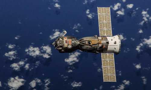 Tàu vũ trụ Soyuz của Nga được dùng để chở phi hành gia NASA lên trạm ISS. Ảnh: NASA.