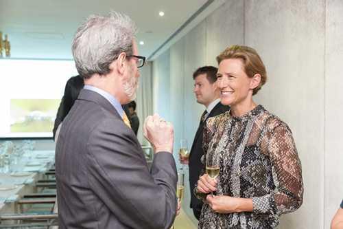 Công chúa Liechtenstein - Marie tại một sự kiện của LGT. Ảnh: LGT