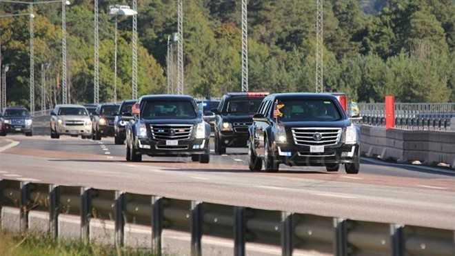 Bi mat ve limousine cua Tong thong ke nhiem ong Obama hinh anh 1