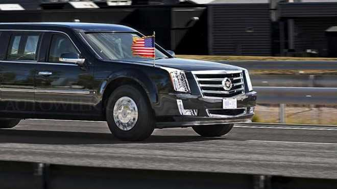 Bi mat ve limousine cua Tong thong ke nhiem ong Obama hinh anh 2