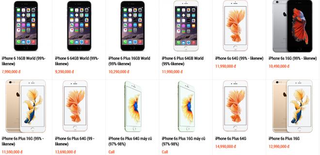iPhone 6 duoc san don khi ve muc gia tam trung hinh anh 1