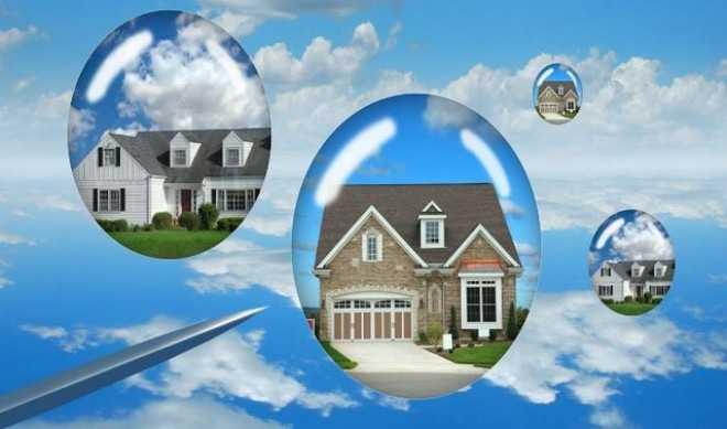 Image result for Cảnh báo bong bóng bất động sản trở lại