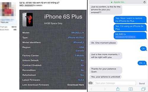 Nhiều người sử dụng iPhone xách tay lo lắng không dám reset thiết bị, hoặc phảiliên hệ trực tiếp với nhân viên Apple và các dịch vụ đểtra tìm nguồn gốc máy.