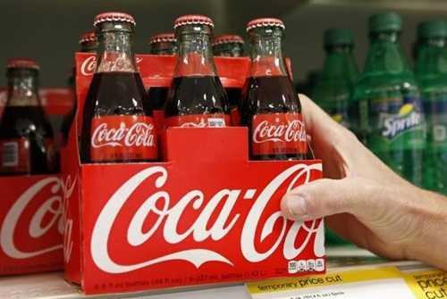 Coca Cola chỉ tăng doanh thu tại thị trường Bắc Mỹ và châu Á. Ảnh: Reuters
