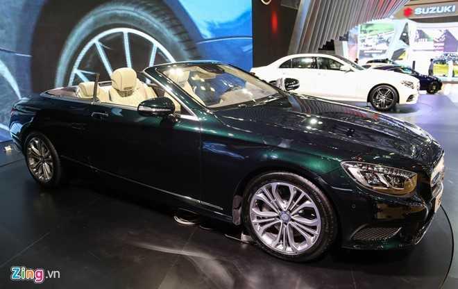 Mercedes S500 mui tran gia gan 11 ty vua ra mat tai VN hinh anh 2