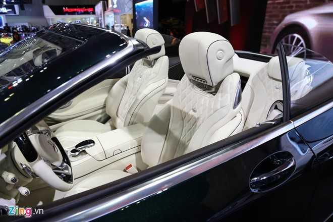 Mercedes S500 mui tran gia gan 11 ty vua ra mat tai VN hinh anh 5