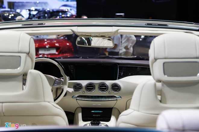 Mercedes S500 mui tran gia gan 11 ty vua ra mat tai VN hinh anh 6