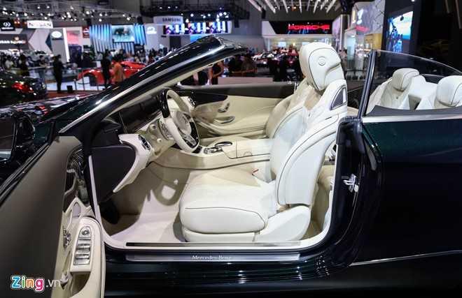 Mercedes S500 mui tran gia gan 11 ty vua ra mat tai VN hinh anh 7