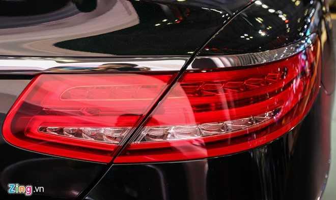 Mercedes S500 mui tran gia gan 11 ty vua ra mat tai VN hinh anh 9