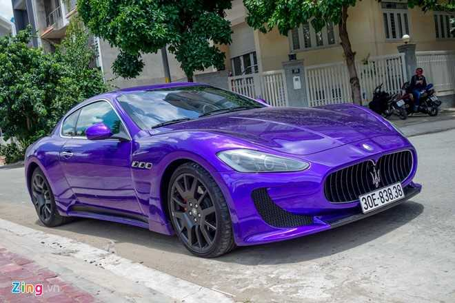 Maserati GranTurismo do MC Stradale mau tim o Sai Gon hinh anh 3