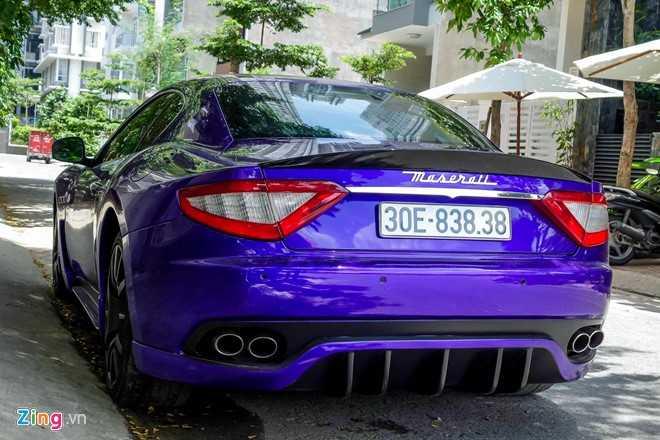 Maserati GranTurismo do MC Stradale mau tim o Sai Gon hinh anh 5
