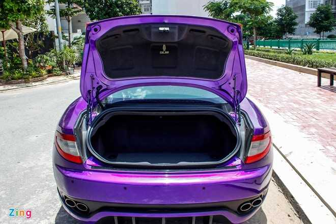 Maserati GranTurismo do MC Stradale mau tim o Sai Gon hinh anh 7