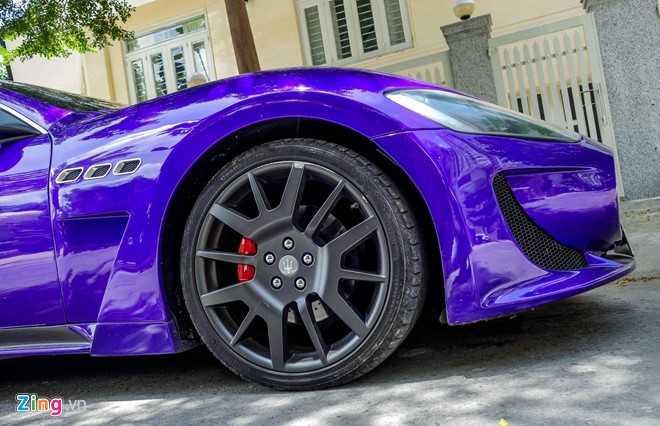 Maserati GranTurismo do MC Stradale mau tim o Sai Gon hinh anh 8