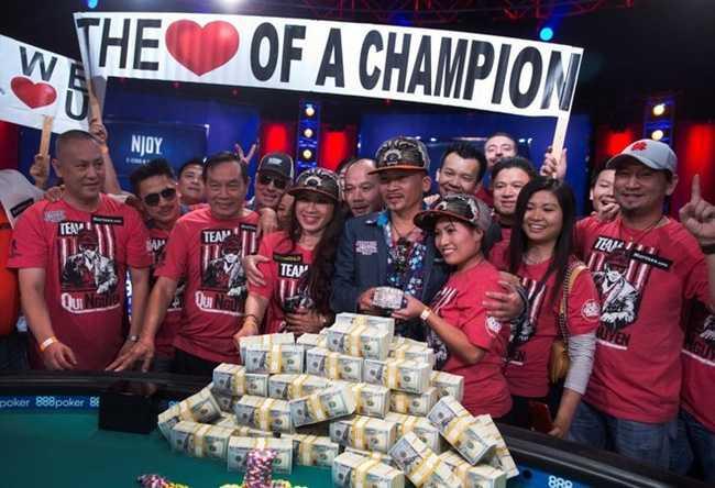 Tay chơi Poker người Mỹ gốc Việt thắng giải thế giới 176 tỷ - Ảnh 1.