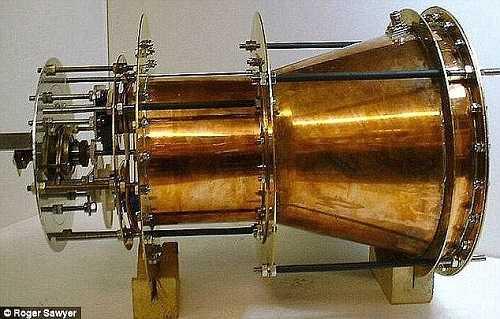 Nguyên mẫu thiết kế động cơ EmDrive. Ảnh: Roger Shawyer