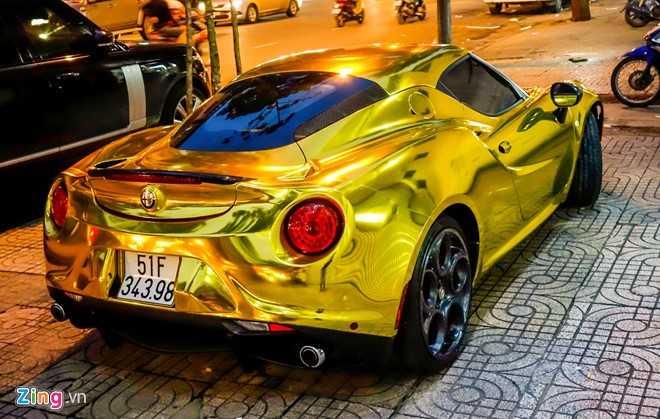 Alfa Romeo 4C Sai Gon ma vang phong cach dan choi Dubai hinh anh 8