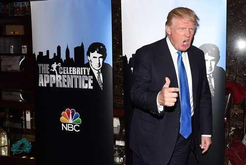 Các phiên bản của The Apprentice đã giúp Donald Trump kiếm lời lớn. Ảnh: AFP