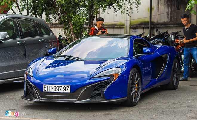 Sieu xe McLaren 650S cua Minh Nhua ra bien doc hinh anh 4