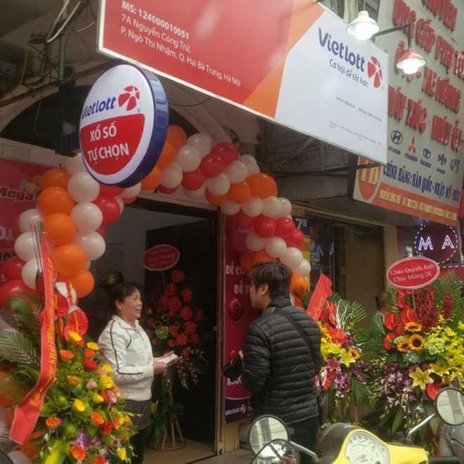 Ngày đầu ra Hà Nội, doanh thu của Vietlott đạt gần 1.700 tỷ đồng ảnh 1