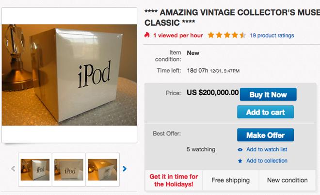 iPod doi dau chao gia 200.000 USD hinh anh 1