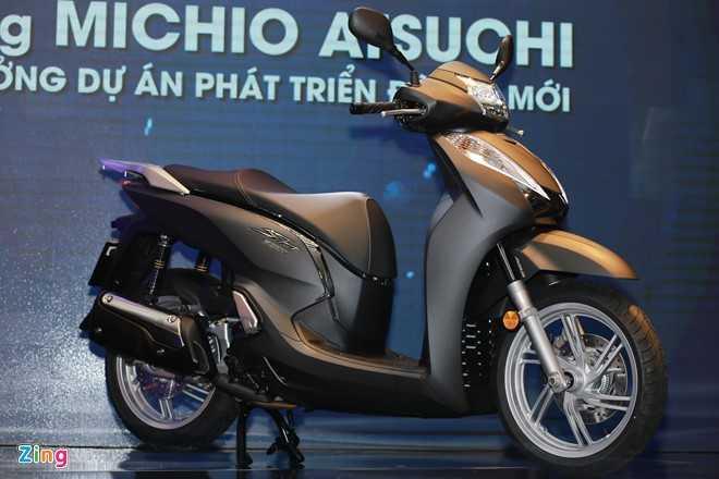 Honda SH 300i ABS 2016 ra mat tai VN, gia 248 trieu dong hinh anh 2