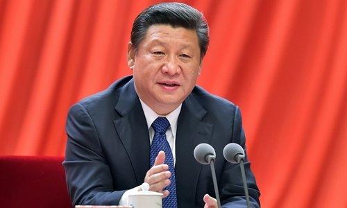 Chủ tịch Trung Quốc Tập Cận Bình. Ảnh: Xinhua