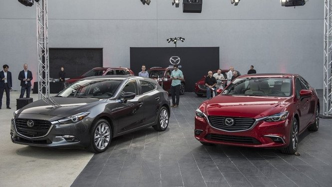 Cận cảnh Mazda 3 bản nâng cấp tại Thái Lan, giá từ 560 triệu đồng ảnh 1