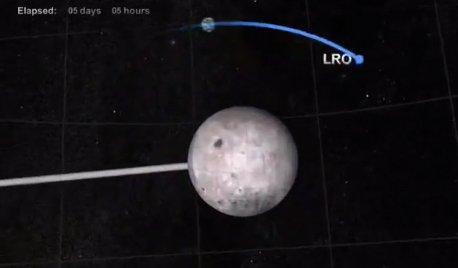 Hinh anh NASA thua nhan tau vu tru bi UFO dam trung