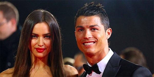 Cristian Ronaldo của Bồ Đào Nha và bạn gái