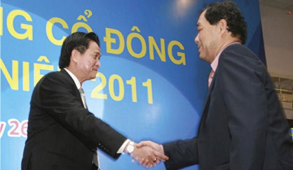 Trầm Bê, Sacombank, SouthernBank, Ngân hàng Phương Nam, Phan Huy Khang, Phạm Công Danh, nợ xấu