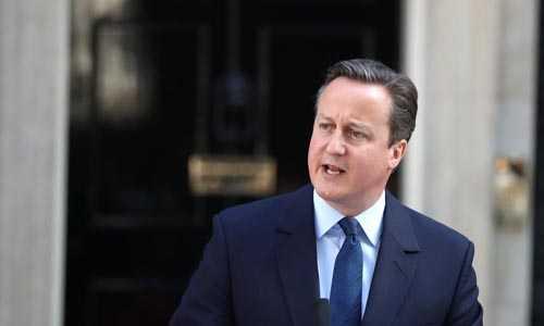 Ông David Cameron sẽ không còn là thủ tướng Anh kể từ ngày 13/7. Ảnh: AFP