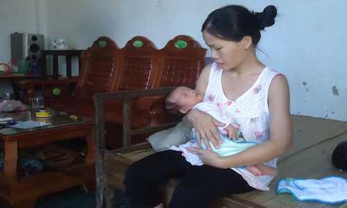 Sản phụ sinh mổ bị cắt nhầm niệu quản ở Bệnh viện Nông Cống, Thanh Hóa.. Ảnh: LS.