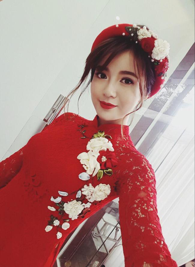 Hot girl Tú Linh M.U xinh đẹp rạng rỡ trong lễ ăn hỏi - Ảnh 2.