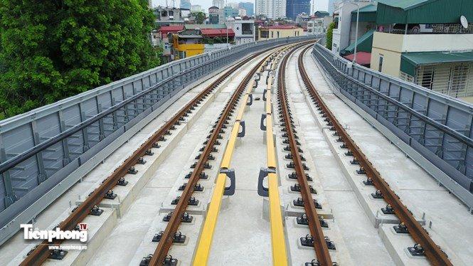 Hình ảnh dự án đường sắt Cát Linh - Hà Đông trước ngày chạy thử - ảnh 1