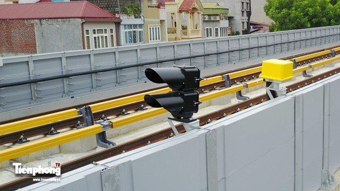 Hình ảnh dự án đường sắt Cát Linh - Hà Đông trước ngày chạy thử - ảnh 2