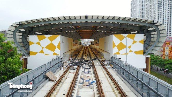 Hình ảnh dự án đường sắt Cát Linh - Hà Đông trước ngày chạy thử - ảnh 4