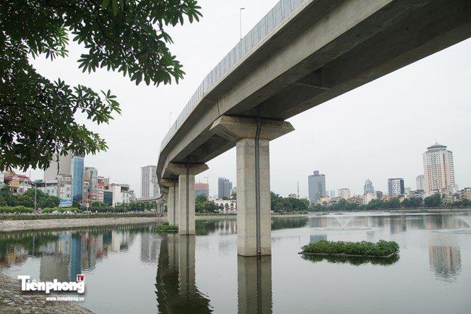 Hình ảnh dự án đường sắt Cát Linh - Hà Đông trước ngày chạy thử - ảnh 5