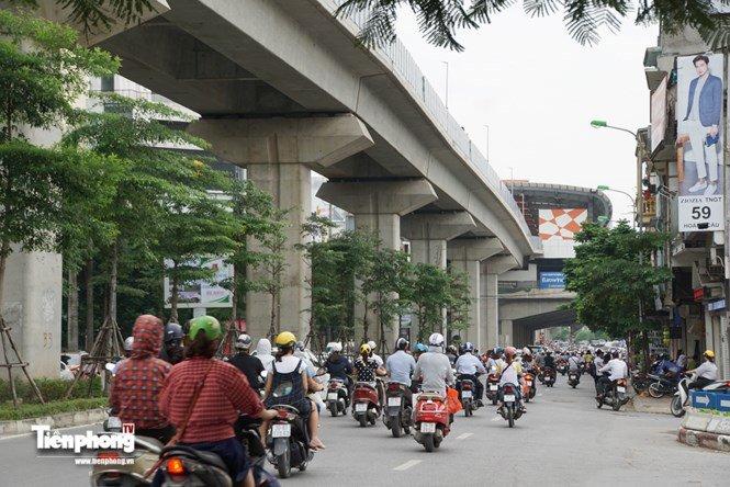 Hình ảnh dự án đường sắt Cát Linh - Hà Đông trước ngày chạy thử - ảnh 6