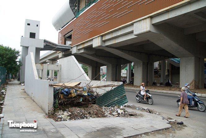 Hình ảnh dự án đường sắt Cát Linh - Hà Đông trước ngày chạy thử - ảnh 10