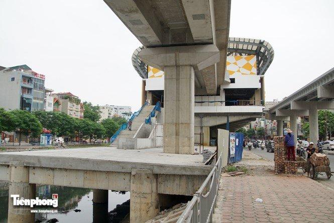 Hình ảnh dự án đường sắt Cát Linh - Hà Đông trước ngày chạy thử - ảnh 12