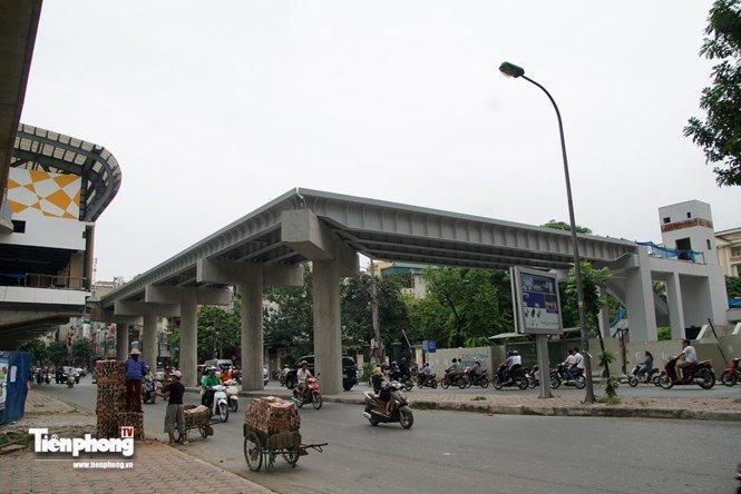 Hình ảnh dự án đường sắt Cát Linh - Hà Đông trước ngày chạy thử - ảnh 13