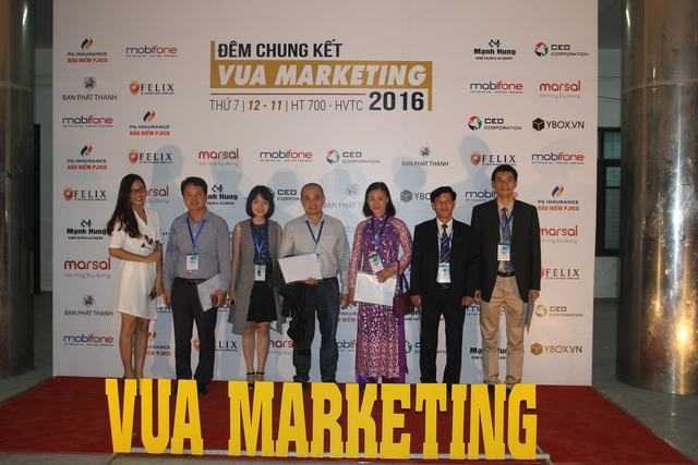 """Quán quân """"Vua Marketing 2016"""" là ai?"""