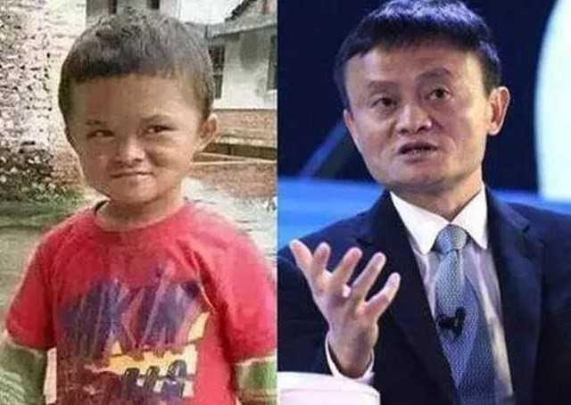 Cau be giong het Jack Ma gap rac roi vi bat ngo noi tieng hinh anh 1