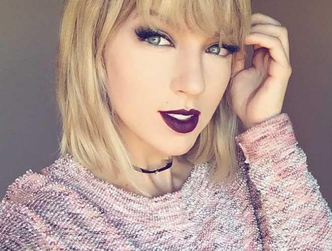 Co gai duoc coi nhu chi em sinh doi cua Taylor Swift hinh anh 3