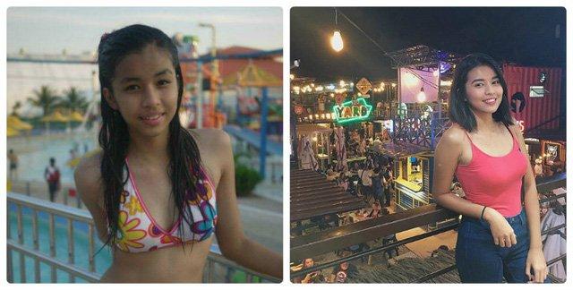 Đen nhẻm hóa hot girl, cô gái đen nhẻm, vịt hóa thiên nga, Aleksis Corbi, hot girl philippines, sinh viên 19 tuổi, hot girl, gái xinh, người đẹp, hành trình làm đẹp, làm đẹp, phụ nữ, thời trang, vtc, 24h, vtc.vn - 4