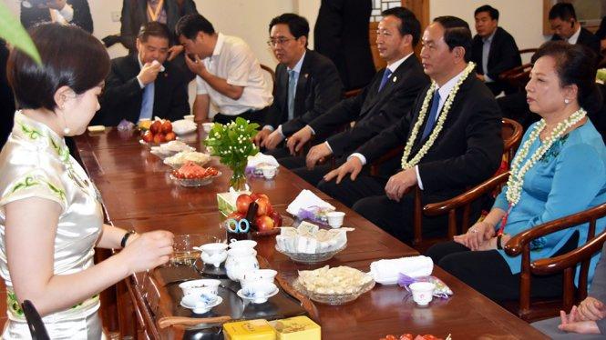 Hinh anh Chu tich nuoc tham pho co 1.400 nam o Phuc Kien 6