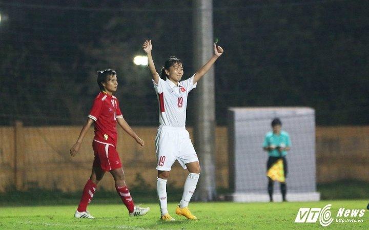 Hinh anh Tuyen nu Viet Nam: Chien dau can truong de gianh ve di Asian Cup 2018 37