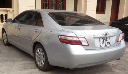 Hoàng Đức Huân lái chiếc xe này khi gây tai nạn khiến nữ giáo viên thiệt mạng. Ảnh: Phương Vy.